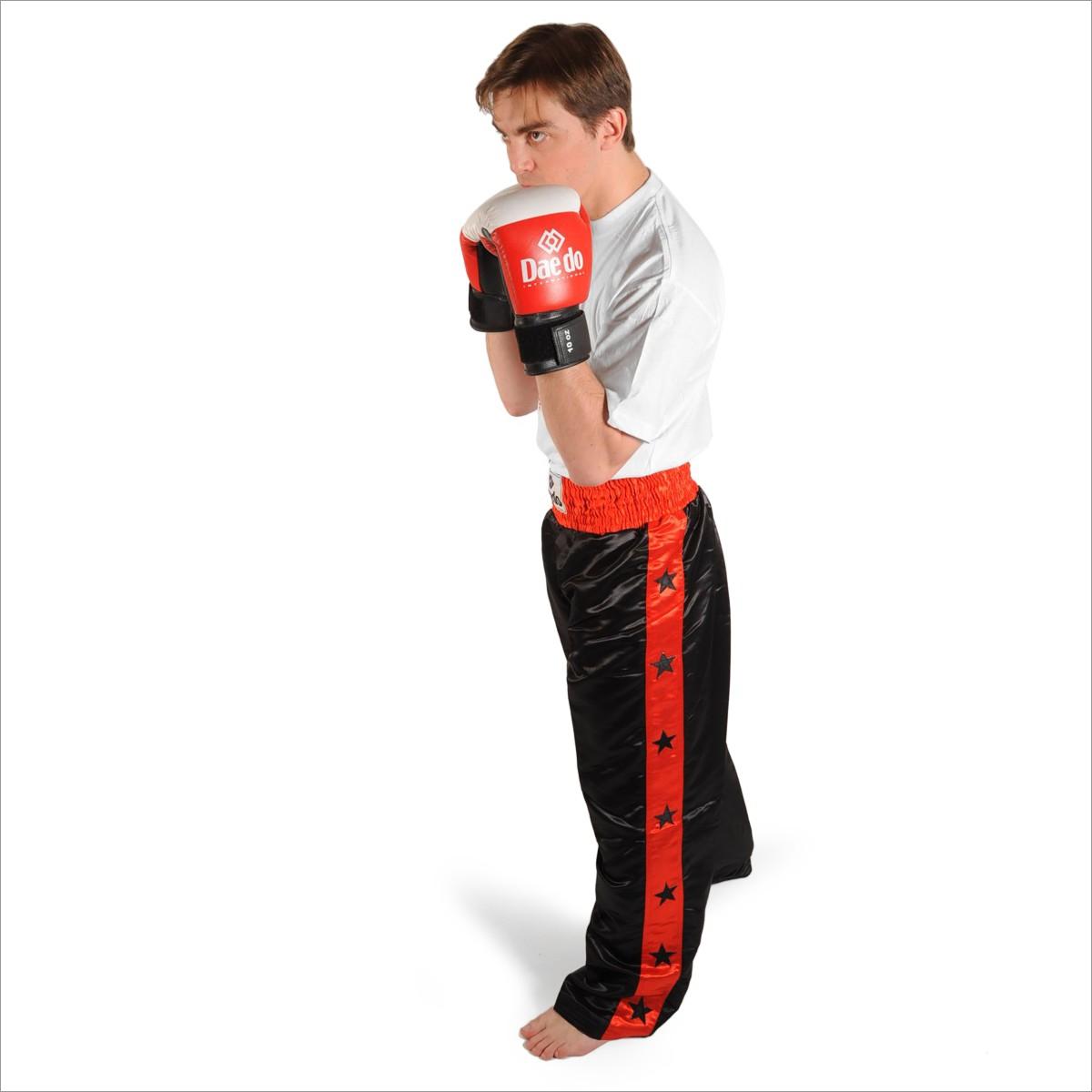 Pantalon De Kick Boxing En Satin Sarl Aji Sport