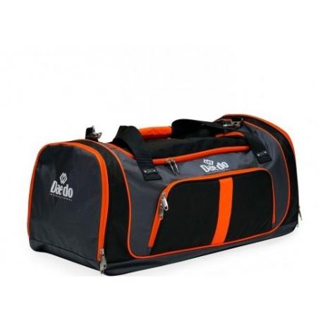 sac de sport à liseret orange